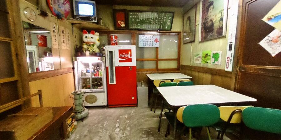 [360°パノラマ] 1階昭和通り 昭和の食堂
