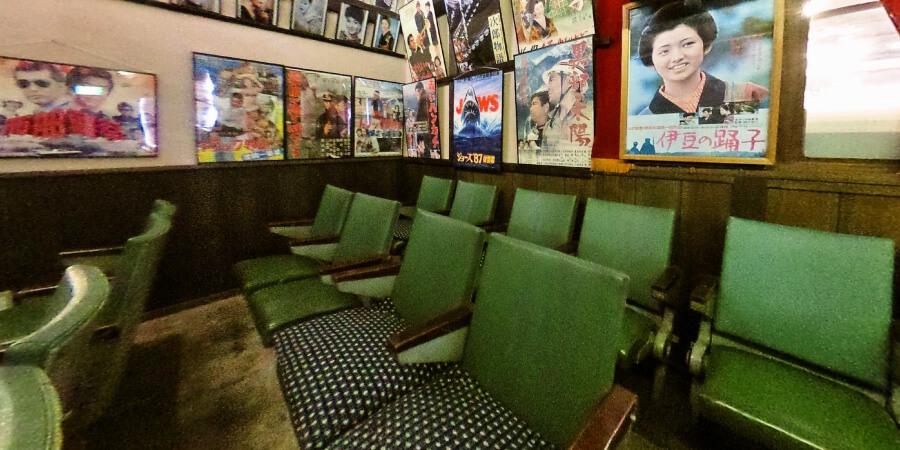 [360°パノラマ] 1階 昭和の映画館